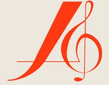 logo klein rood op beige